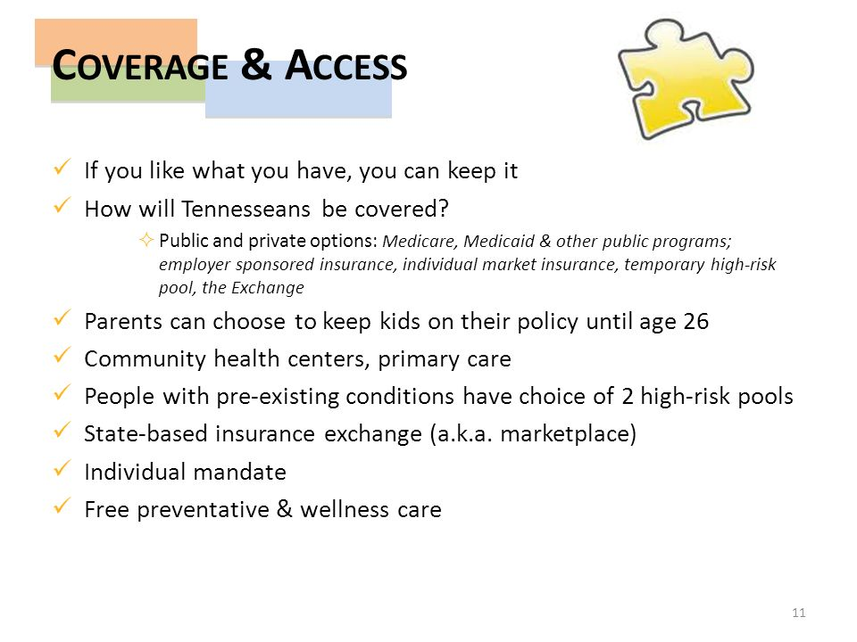 If you like what you have, you can keep it How will Tennesseans be covered.