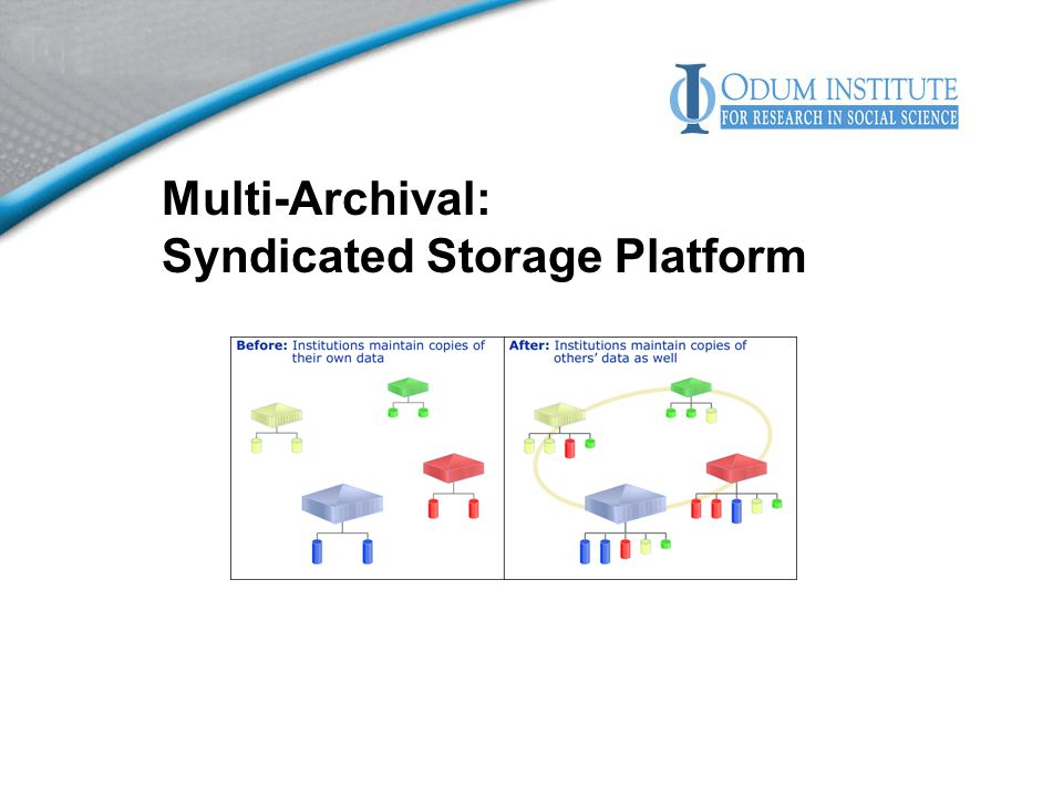 Multi-Archival: Syndicated Storage Platform