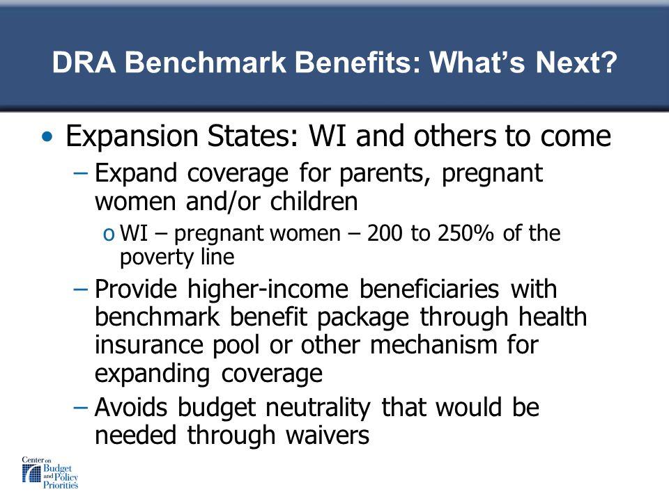 DRA Benchmark Benefits: Whats Next.