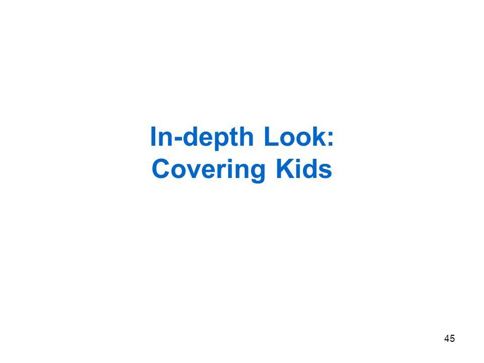 45 In-depth Look: Covering Kids