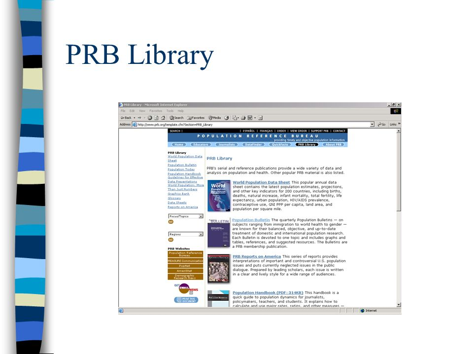 PRB Library