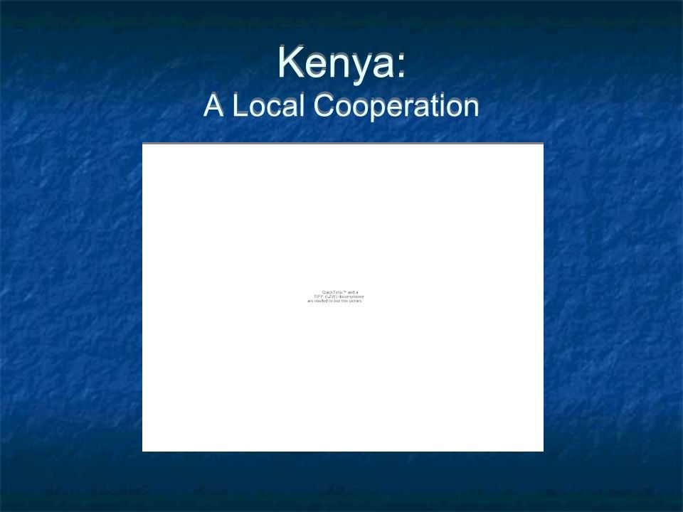 Kenya: A Local Cooperation
