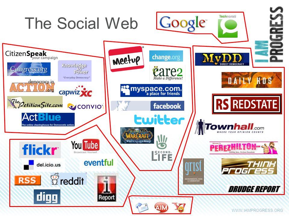 WWW.IAMPROGRESS.ORG The Social Web