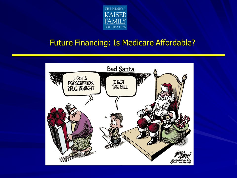 Future Financing: Is Medicare Affordable?