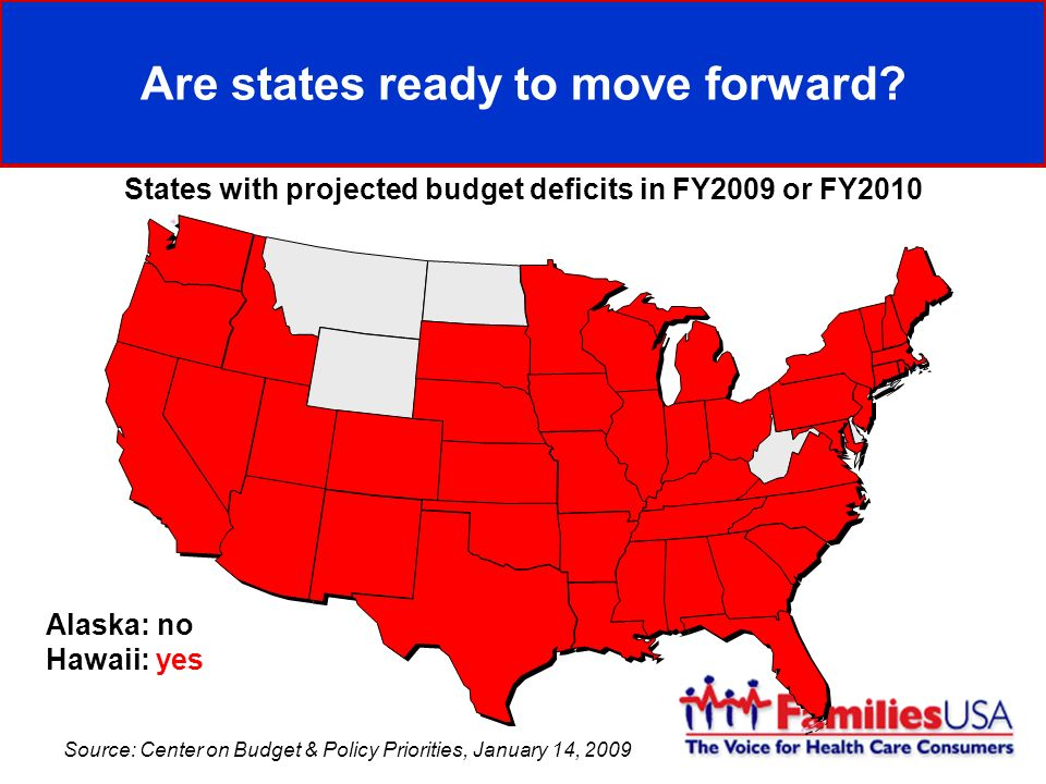 Are states ready to move forward.