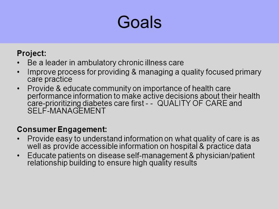 Consumer Insights Diagnosis –surprise/inevitability, fear, denial, feeling overwhelmed Living with diabetes –stigma/shame –food/diet daily challenges –crave social support & info Diabetes care received –inconsistent self care; poorly informed about Rx.