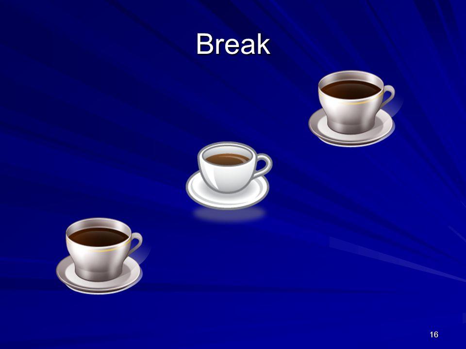 16 Break