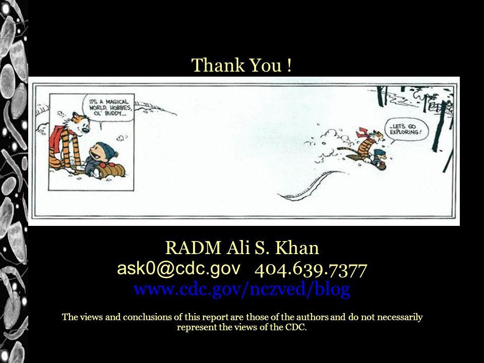 Thank You . RADM Ali S.