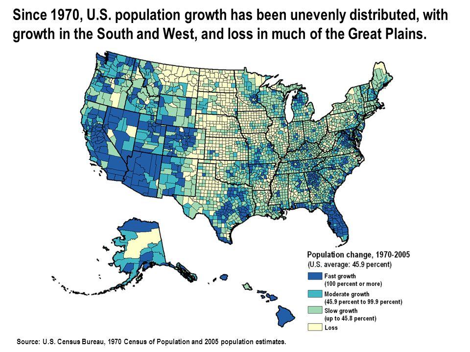 © 2006 POPULATION REFERENCE BUREAU Source: U.S.