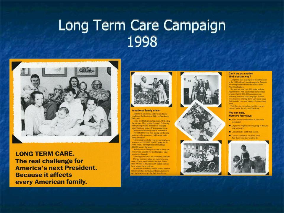 Long Term Care Campaign 1998