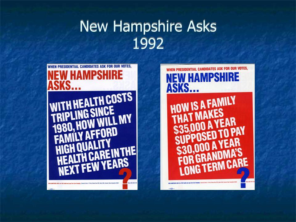 New Hampshire Asks 1992
