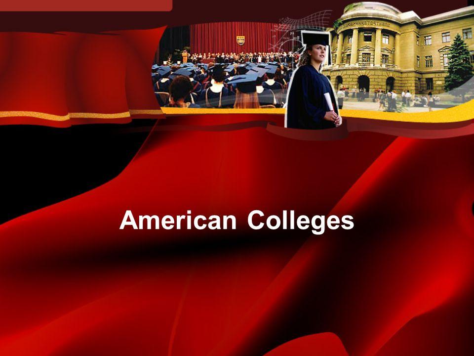 The first American college –Harvard College (1636) –Congregationalist –Primarily Cambridge University (Emmanuel College) professors found Harvard.