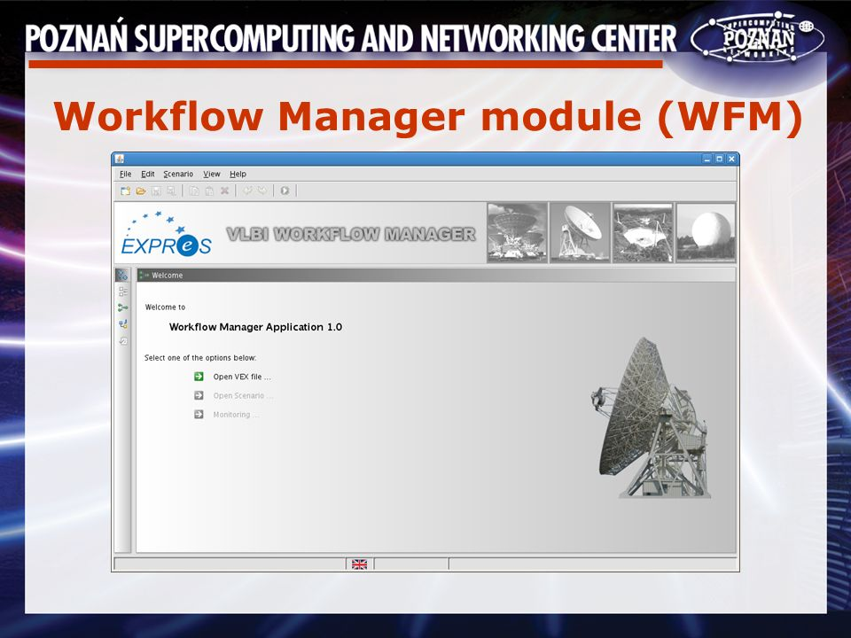 Workflow Manager module (WFM)