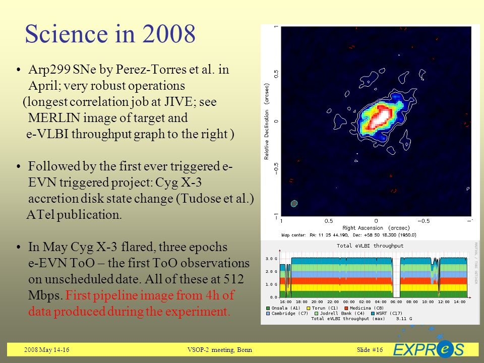 2008 May 14-16VSOP-2 meeting, BonnSlide #16 Science in 2008 Arp299 SNe by Perez-Torres et al.
