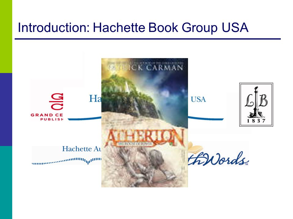 Introduction: Hachette Book Group USA