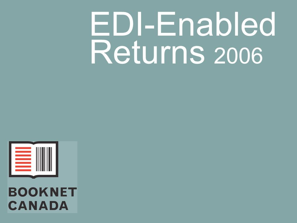 EDI-Enabled Returns 2006