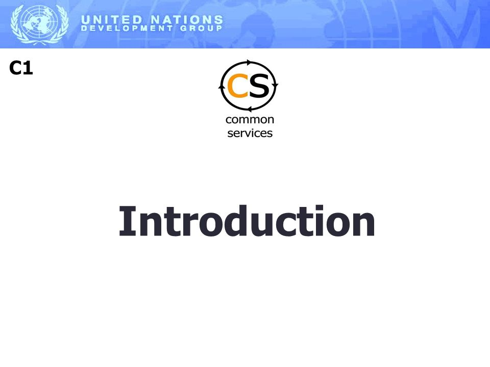 Introduction C1
