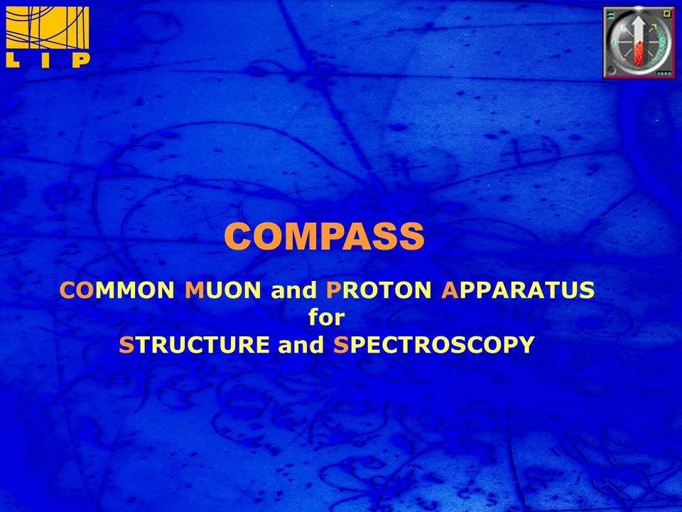 12 Nov 2004 Paula Bordalo, NUPECC-Lisbon meting 20 COMPASS COMMON MUON and PROTON APPARATUS for STRUCTURE and SPECTROSCOPY