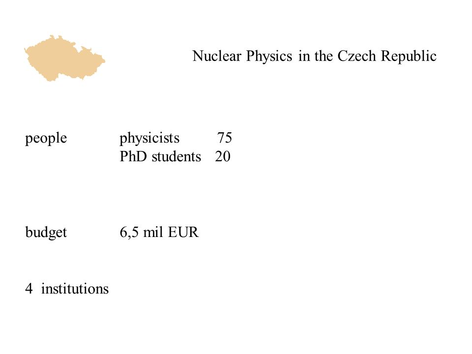 Nuclear Physics for Energy EURATOM fusion program fast neutron generators employing cyclotron beam σ n (IFMIF-like white spectrum) 36 MeV D2O target station 10 11 n/cm 2 /s nuclear data relevant to the fusion technologies the only facility within EU labs - simulates the neutron spectrum of IFMIF member of SPIRAL-2 Neutrons for Science ATLAS-HEC (CERN) radiation-damage studies - SCT