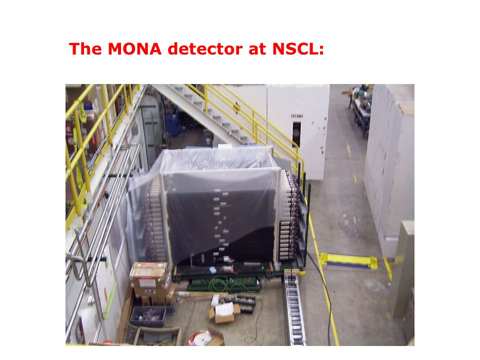 The MONA detector at NSCL:
