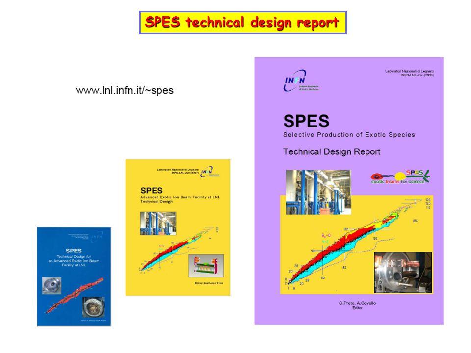 SPES technical design report