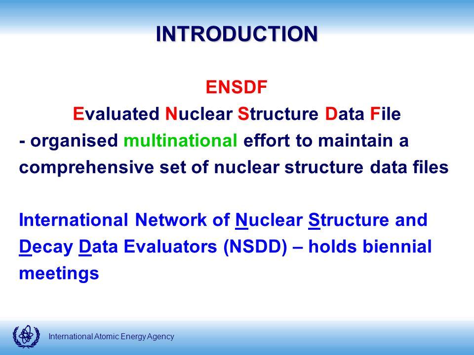 International Atomic Energy Agency So what happened in 2008?