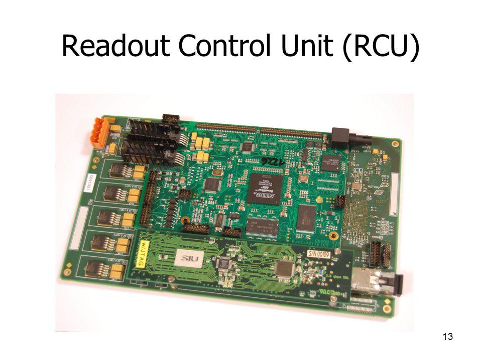 13 Readout Control Unit (RCU)