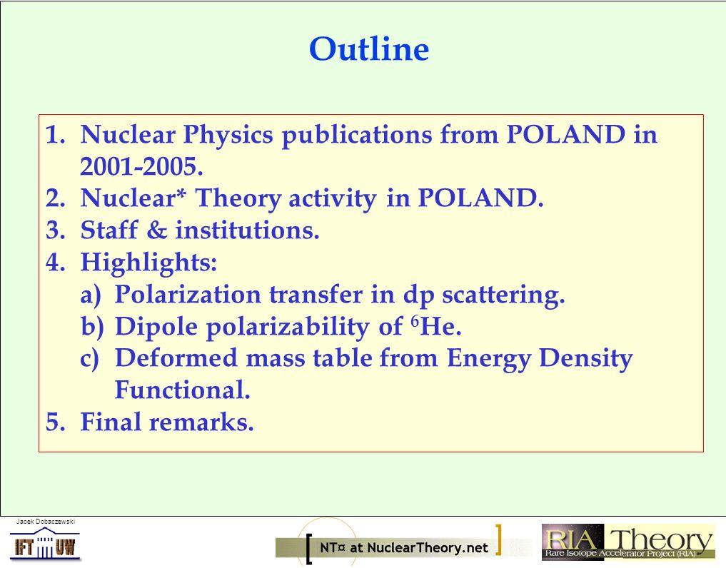 Jacek Dobaczewski Eur.Phys. Jour. A Nucl. Phys. A Phys.