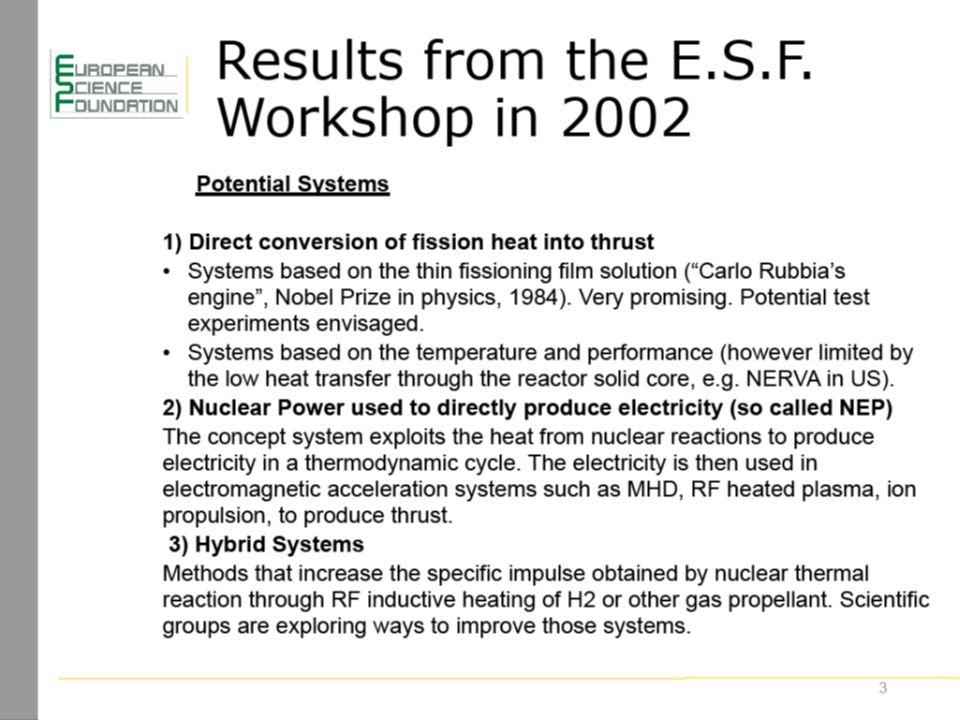 www.esf.org 14
