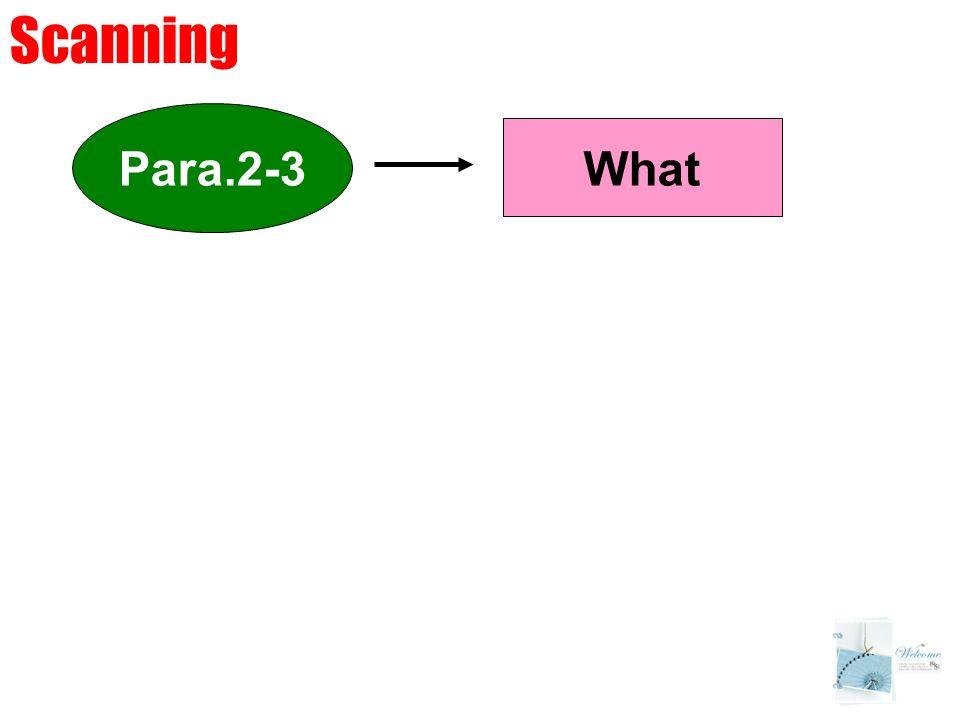 Para.2-3 What Scanning
