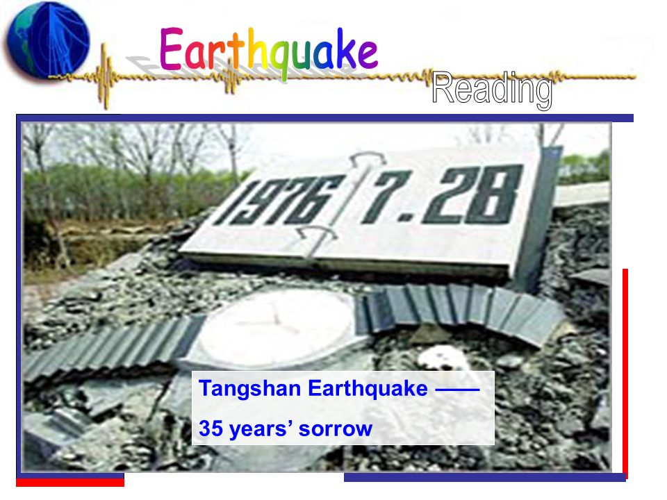 Tangshan Earthquake 35 years sorrow