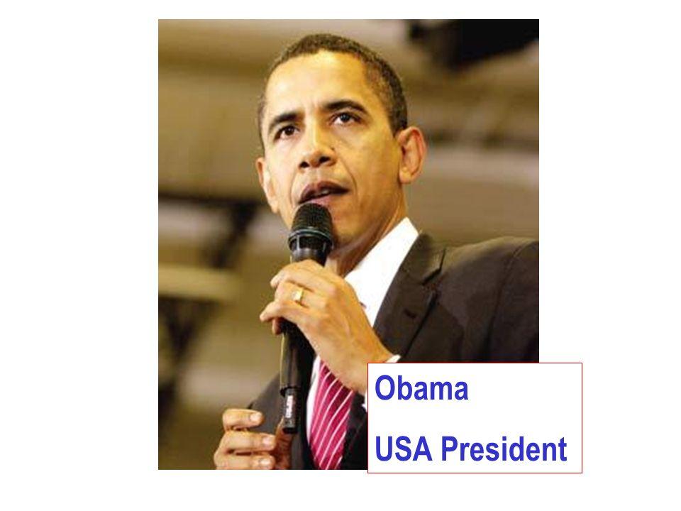 Obama USA President