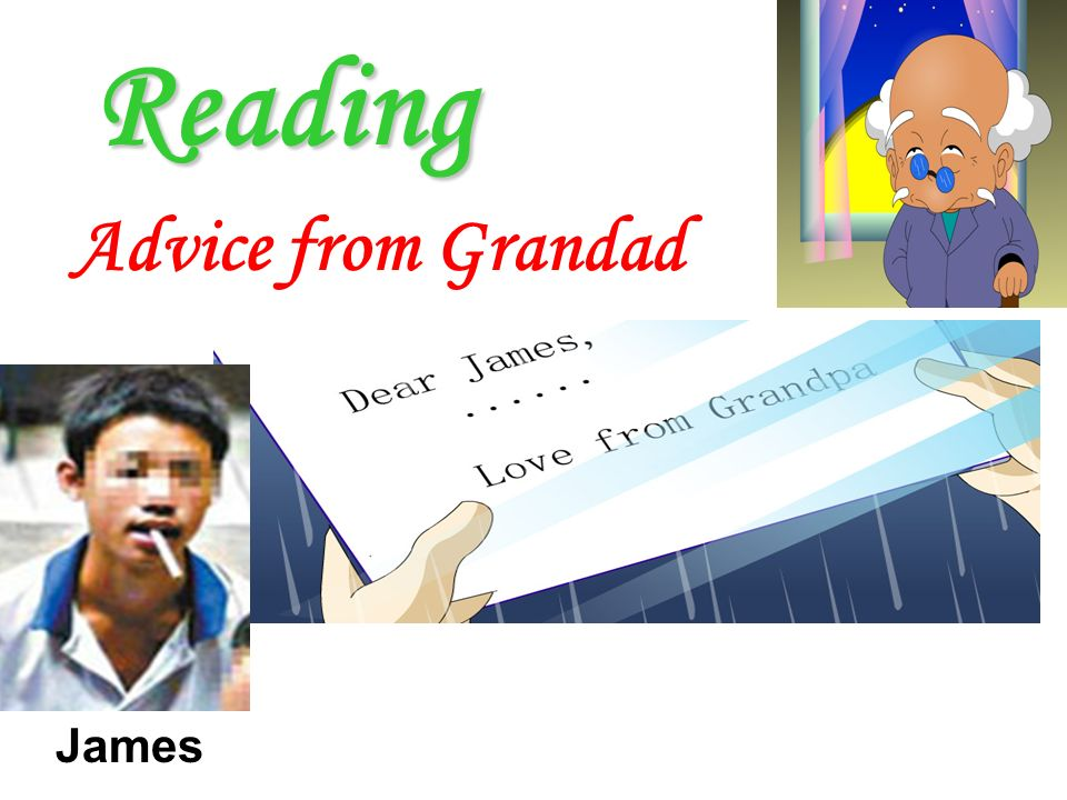 Reading Advice from Grandad James