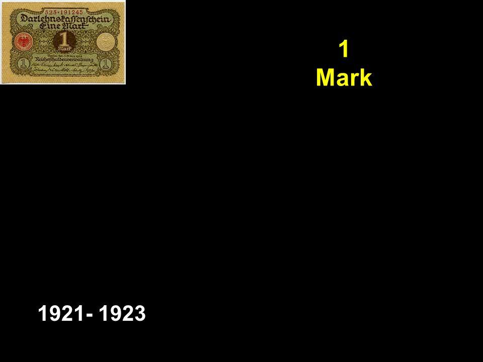 1 Mark 1921- 1923