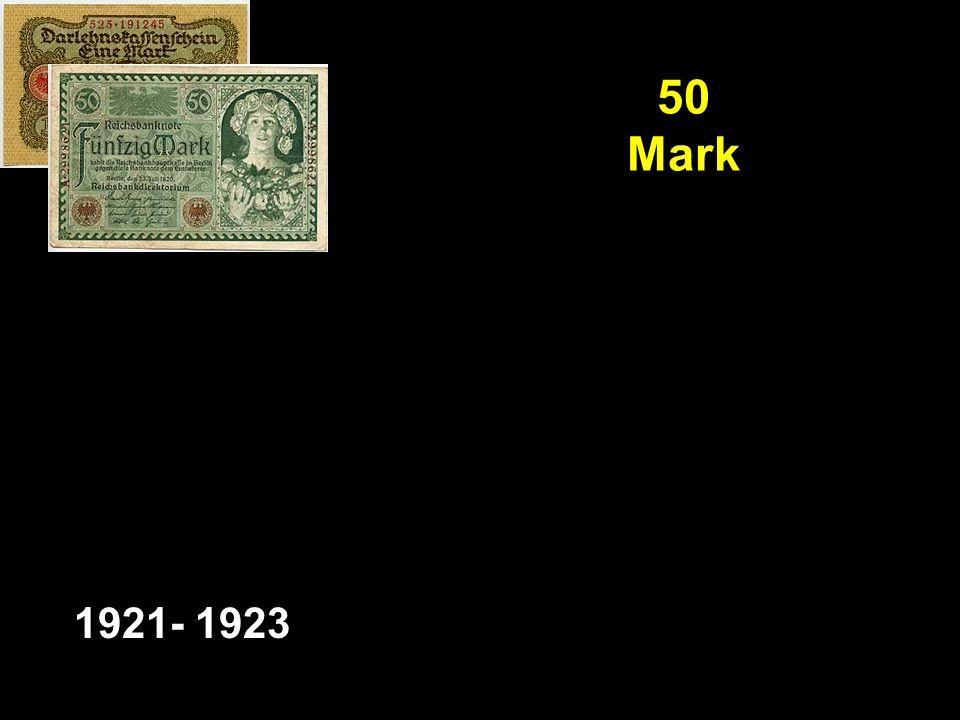 50 Mark 1921- 1923