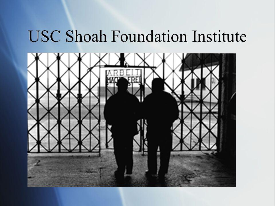 USC Shoah Foundation Institute