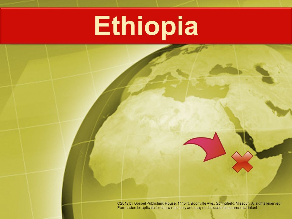 Ethiopia is in the Horn of Africa.Ethiopia is ¾ the size of Alaska.