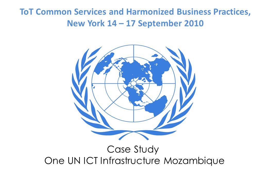 One UN ICT Infrastructure.