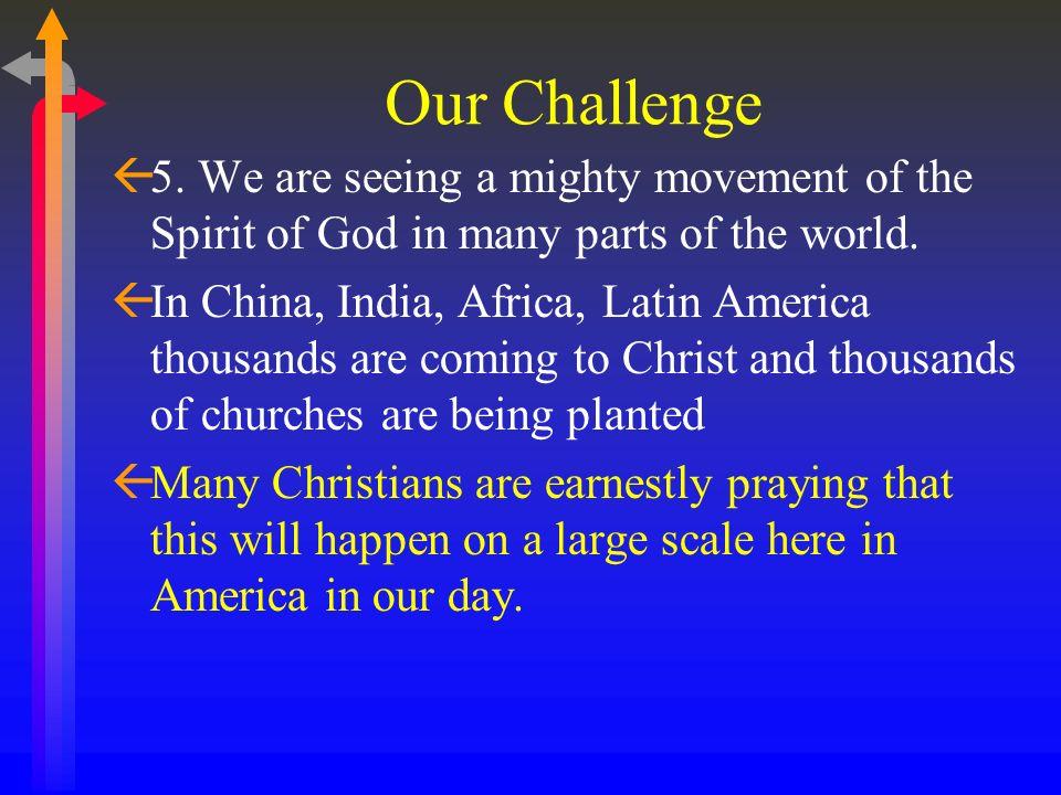 Our Challenge ß3.