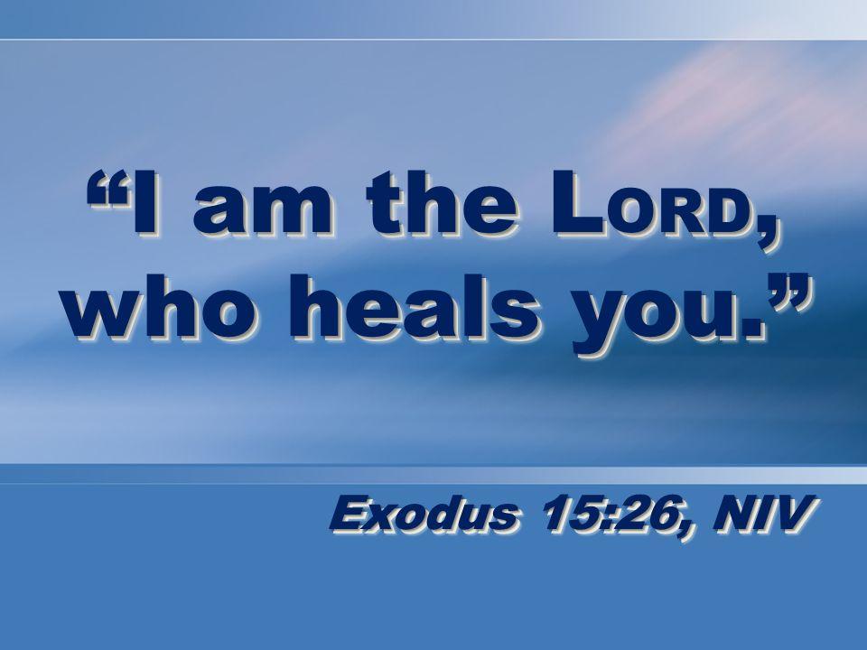 Testimonies of Healing