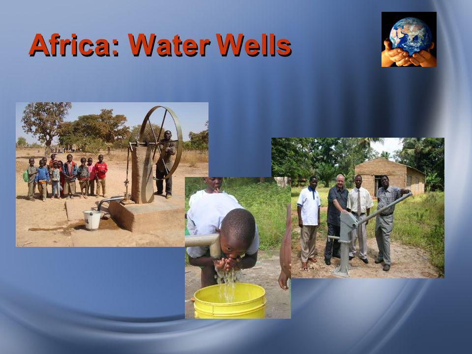 Africa: Water Wells