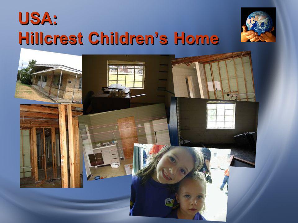 USA: Hillcrest Childrens Home