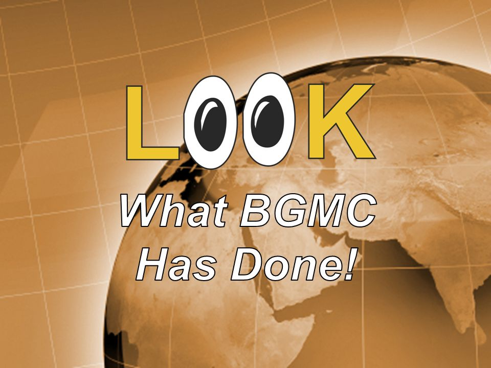 BGMC helped many children in India learn about Jesus love, thanks to kids like you!