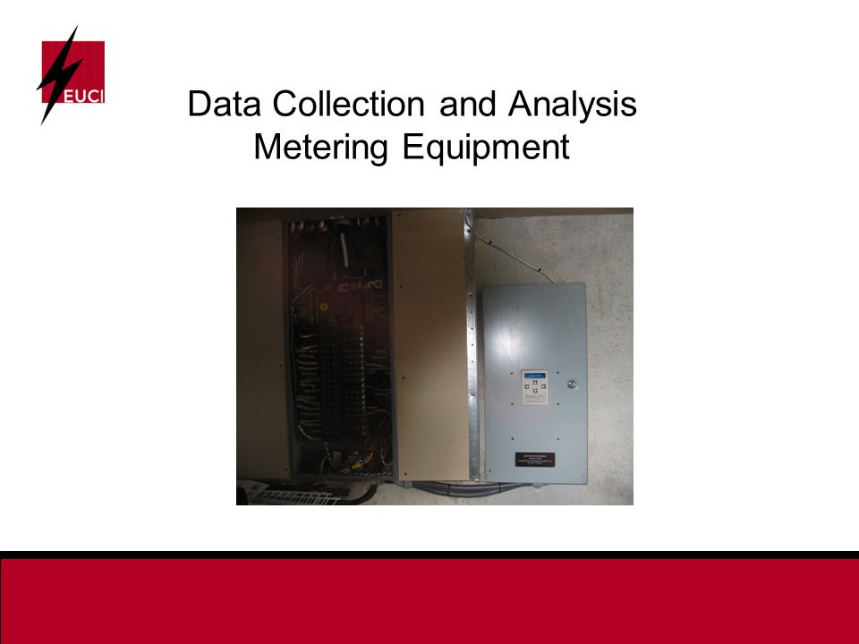 Data Collection and Analysis Metering Equipment