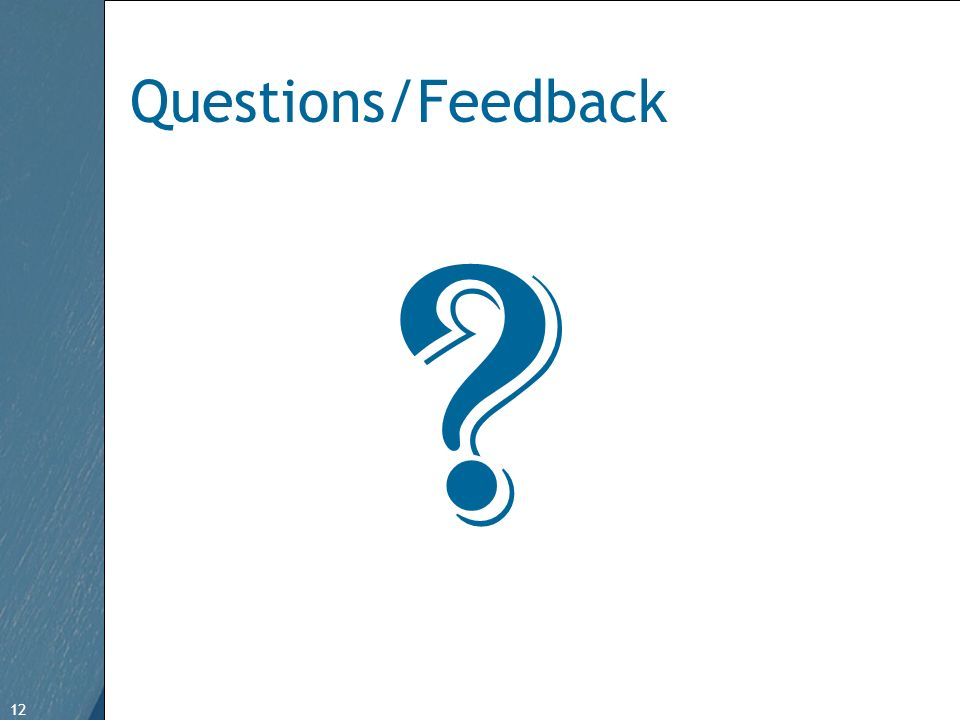 12 Free Template from www.brainybetty.com 12 Questions/Feedback
