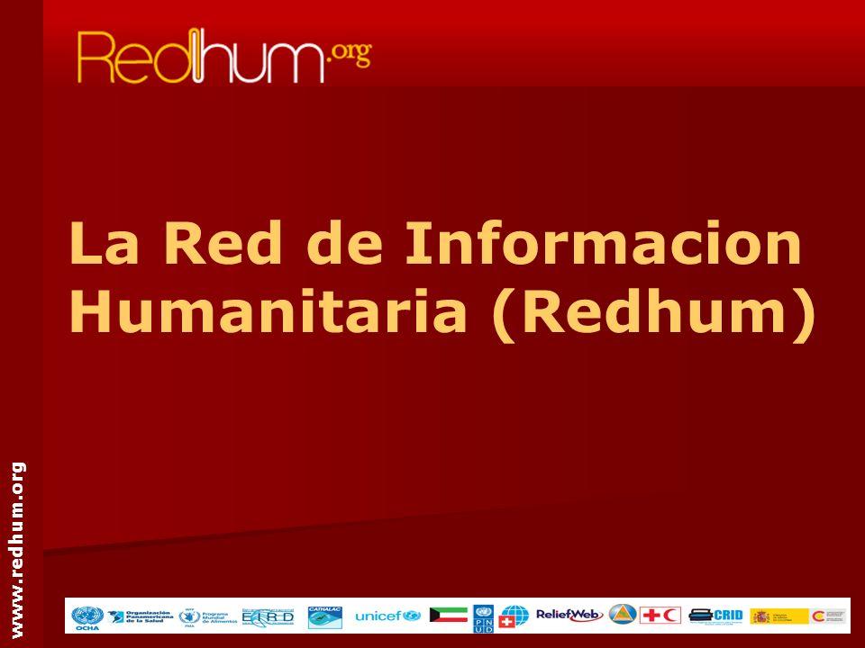 www.redhum.org La Red de Informacion Humanitaria (Redhum)