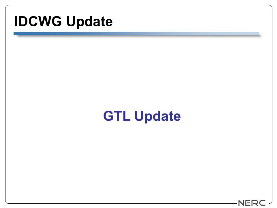 IDCWG Update GTL Update