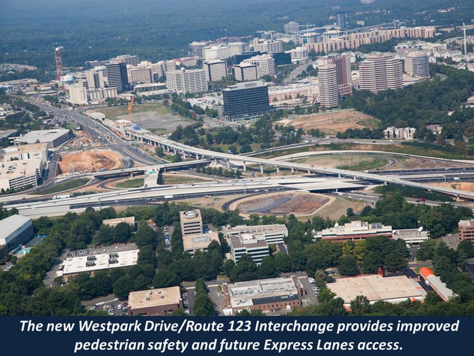 Click to edit Master title style »Click to edit Master text styles –Second level Third level –Fourth level Fifth level The new Dulles Toll Road Interchange provides future Express Lanes access.