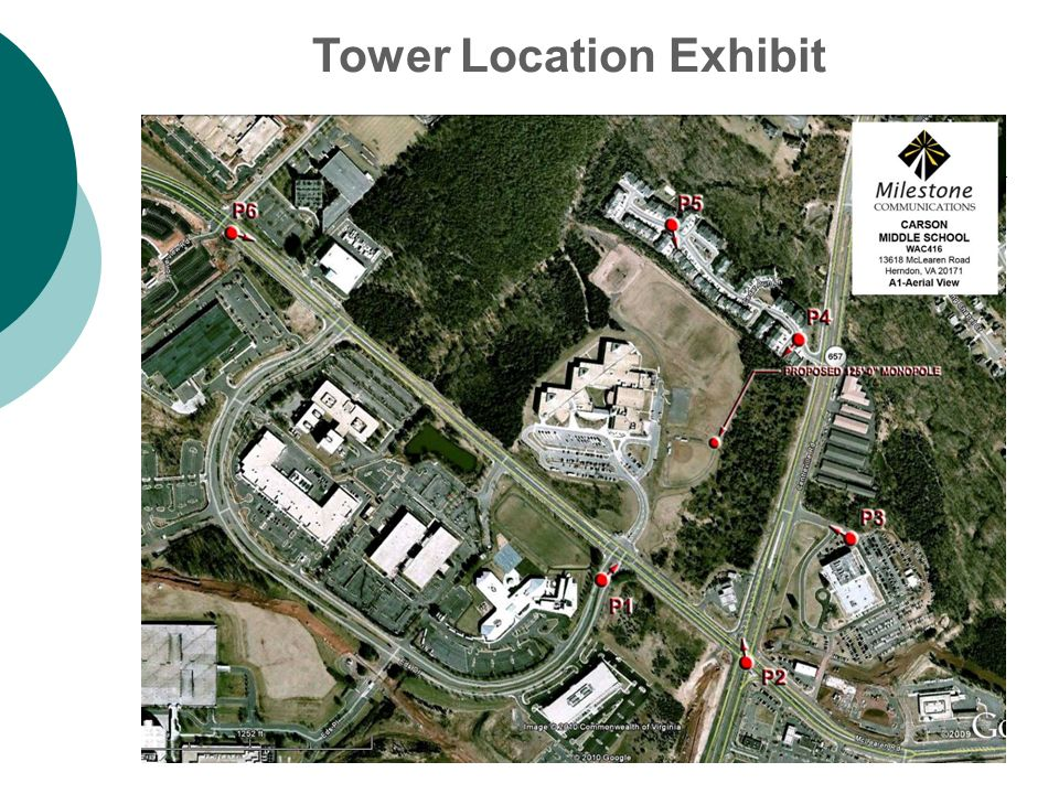Tower Location Exhibit