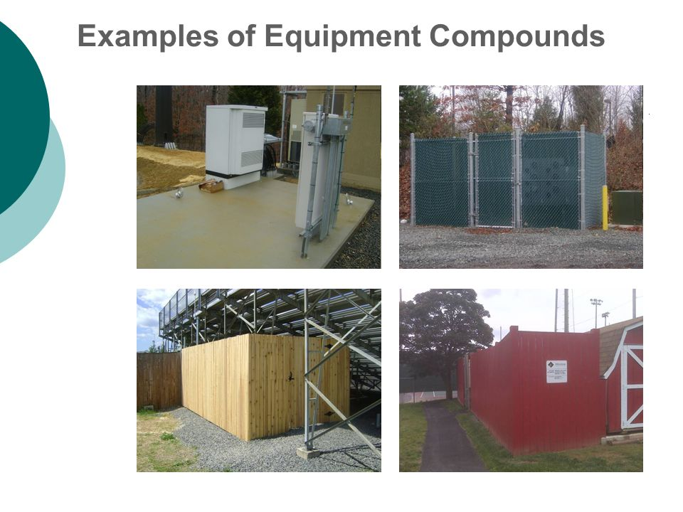 Examples of Equipment Compounds